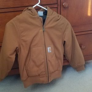 Other - New, Carhart boys quilt lined jacket, size XS